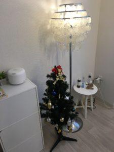 マツエクサロンeclatのクリスマスツリー